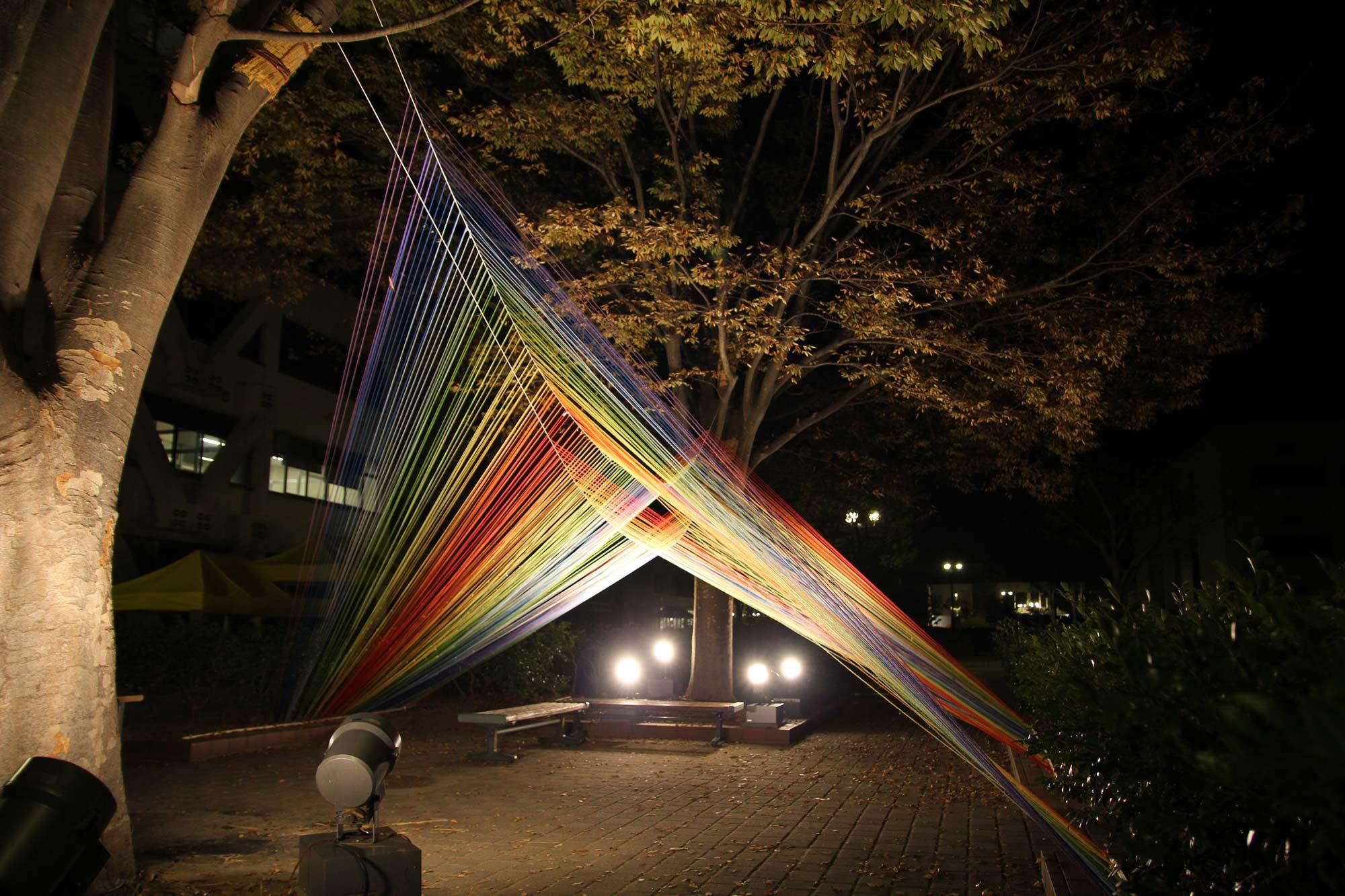 写真:光の束6