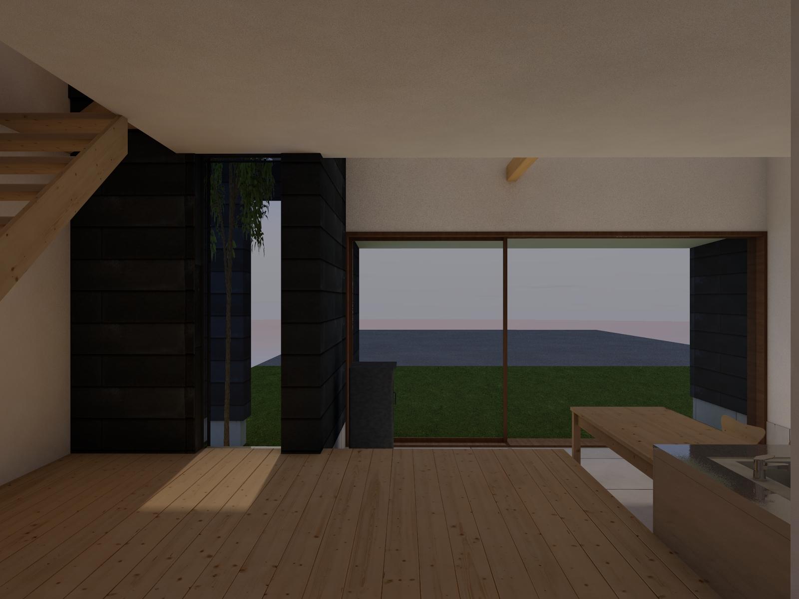 写真:なか土間の家4