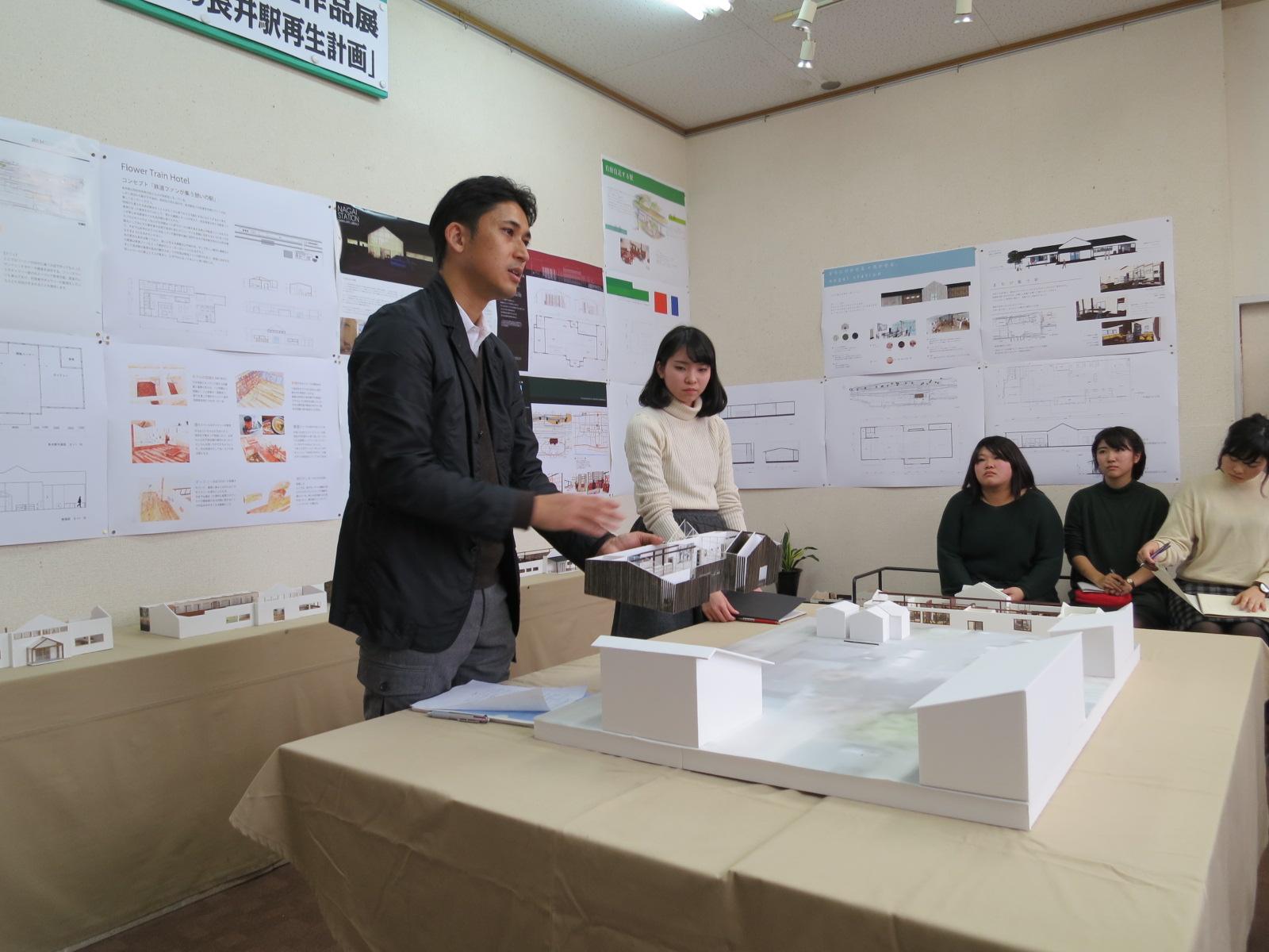 写真:長井駅リノベーションプロジェクト2