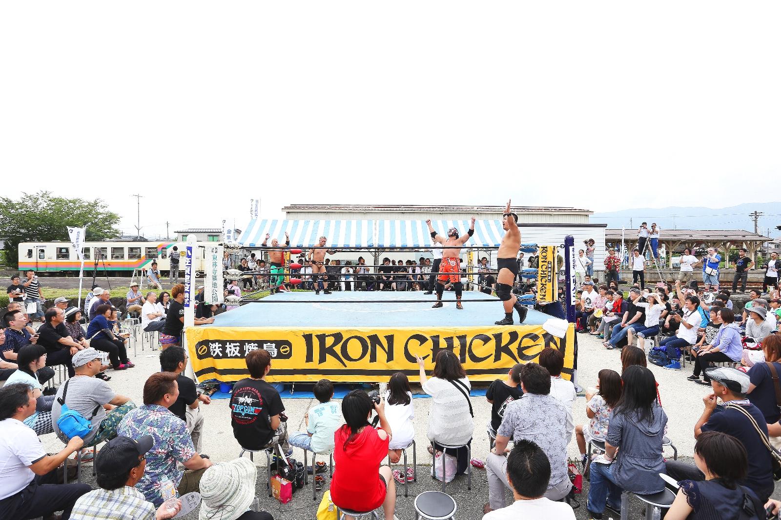 写真:ローカル線プロレス11